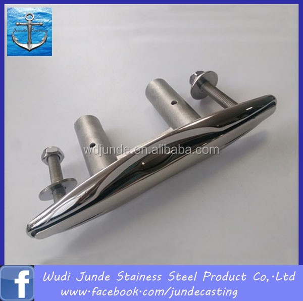 stainless steel 304/316 rope cleat boat for sale
