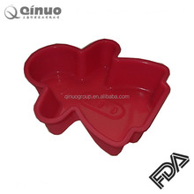 cupcake bakeware chocolate tree mould silicone cake molds for christmas cookie molds