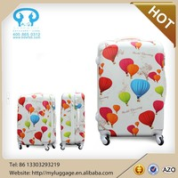 Hard shell abs travel trolley luggage WITH free cover