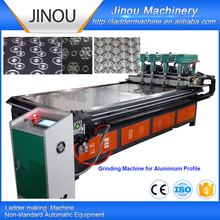 Automatic stainless steel plate Surface Polishing Grinding machine for aluminum profile