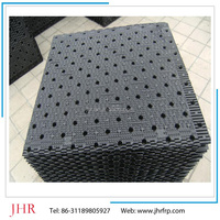 cross-flow cooling tower fill with 750mm width