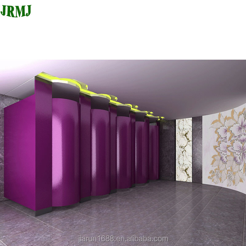 HPL compact laminate cubicle toilet partition