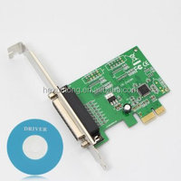 WCH 352L PCI express TO Parallel card PCIE TO DB25 Female parallel card
