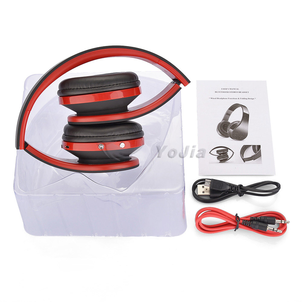 2015 New Unique Wireless Stereo Foldable Bluetooth Headphone/headset/earphone wholesale at low price