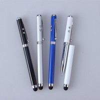 Multifunction metal stylus pen led light pen laser Pen