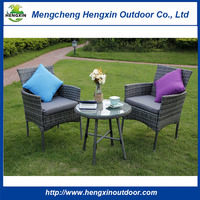 Wholesale customization Cheap Outdoor Furniture Natural Rattan Outdoor Sofa Set Rattan Dining Round Table and Chair Set