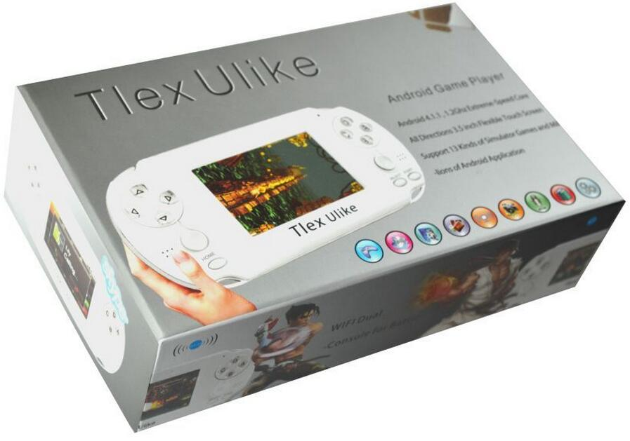 Android Handheld Game Player 32bit Retro Game Console Support for PSP Games Wi-Fi with Touch Screen For 1080P Output