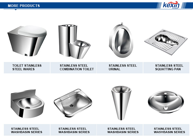 Stainless Steel Squat Pan