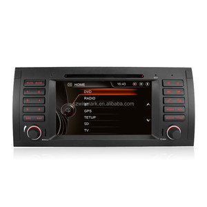 DJ7061 Special 7 Inch Single Din GPS Car Radio for Bmw E39 With Original UI
