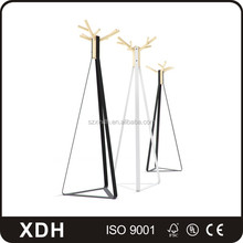 Wrought Iron Rack Multi Hooks Hall Tree With Umbrella Stand, Metal Coat Hanger