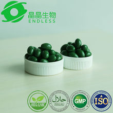 high quality 100% pure green spirulina slimming burn the fat capsules