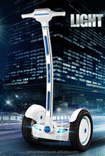 CE off road electric scooter A6 electric chariot balance scooter with big wheel