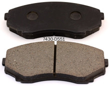 high density brake pad factory for ROHENS MAZDA MPV with best quality and low price