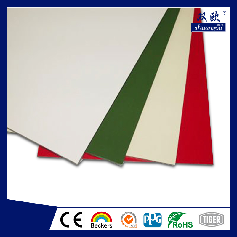 Professional chameleom aluminium composite panel for wholesales
