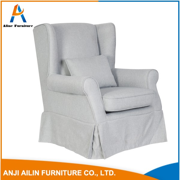best selling Single coloring high back sofa armchair for reception