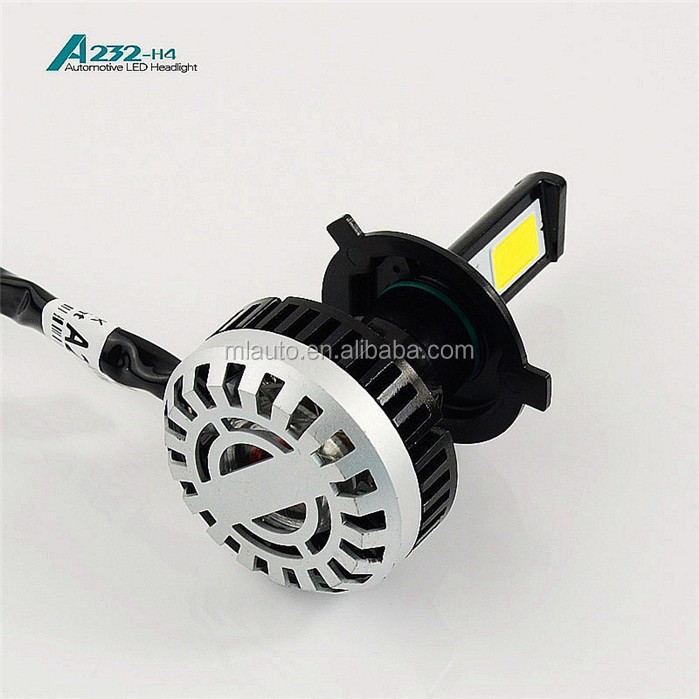 led motorbile headlight with 32w high power led car h4 headlight 280 emitting beam