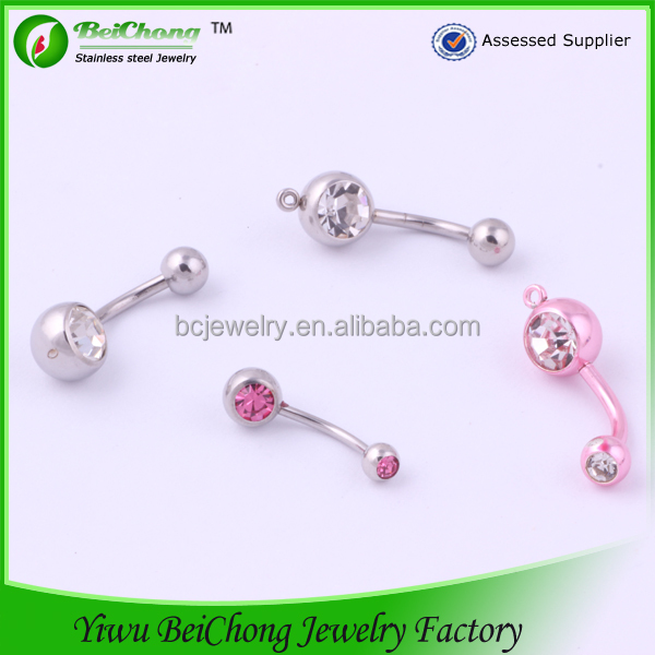 Health Product Stainless Steel Body Jewelry Piercings