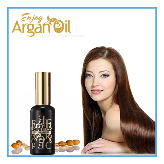Private label best argan oil for relieving hair fall