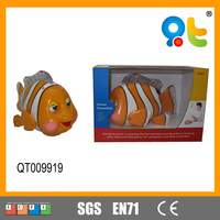 Popular advanced fish toy with light and music