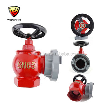 2.5 inch indoor fire hydrant valve in fire fighting equipment