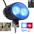 China Manufacturer President Warehouse 12v Forklift Led Blue Spot Safety Warning Light