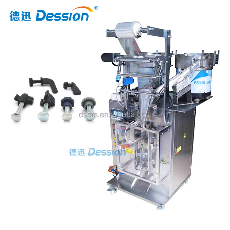 Nut Bolt Screw Counting Packing Machine