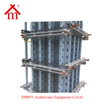 wall / column formwork system for construction