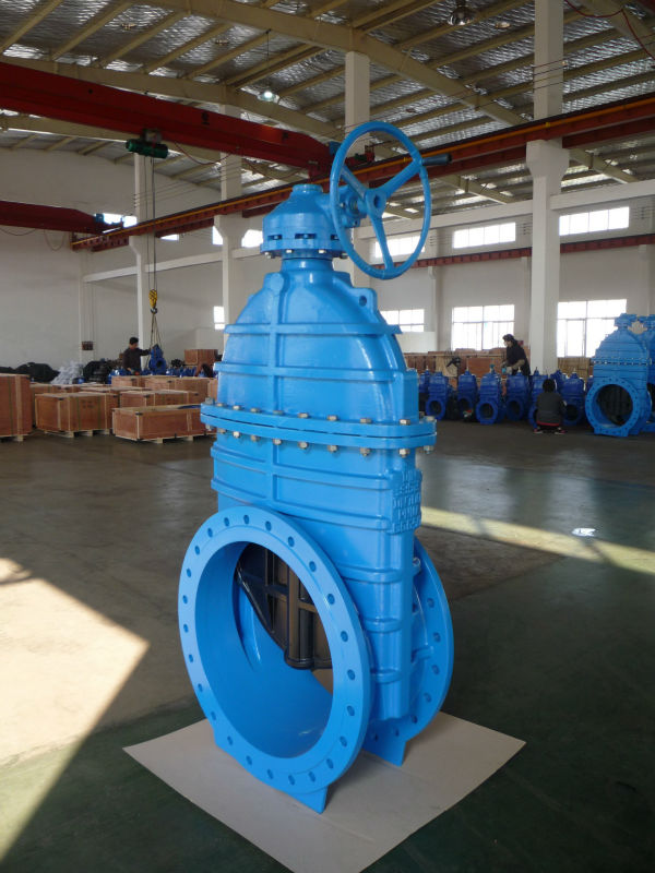 big size resilient gate valve