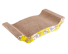Hot Selling Cheap Corrugated Cardboard sleeping,cat bed.Cat Scratcher ,Cat toy