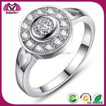 Wholesale 925 Rings Cut Diamond Jewelry For Women