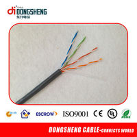 Internet Networking Well Twisted 24 AWG TV Cable UTP Cat5e