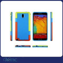 Wholesale colorful pc tpu fancy cover for Samsung Galaxy Note 3 Case