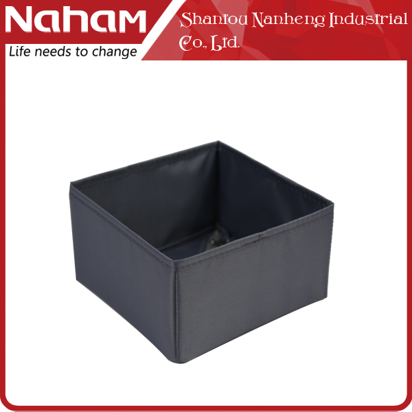 NAHAM low price folding 420D-polyester clothes storage cube 1 box
