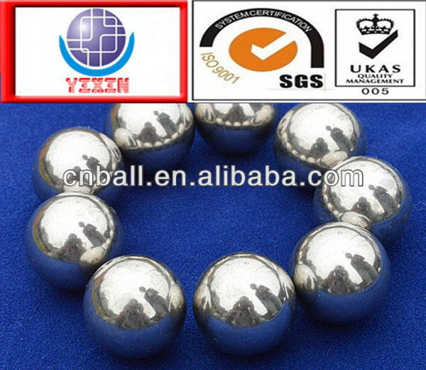 2017 best sell 5mm 6mm 6.35mm 9.525mm 12.7mm 15.875mm stainless steel ball for cars parts