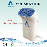 Mini USB air purifier with ozone and anion