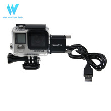 Best light transmittance waterproof housing protective case for go pro Heros4/3+/