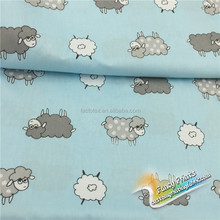 Widely used superior quality printed kids organic cotton fabric