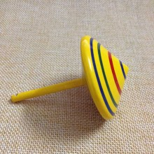 Handmade Painted Wood Spinning Tops/Wooden Toys Spinner Top Kids Gift
