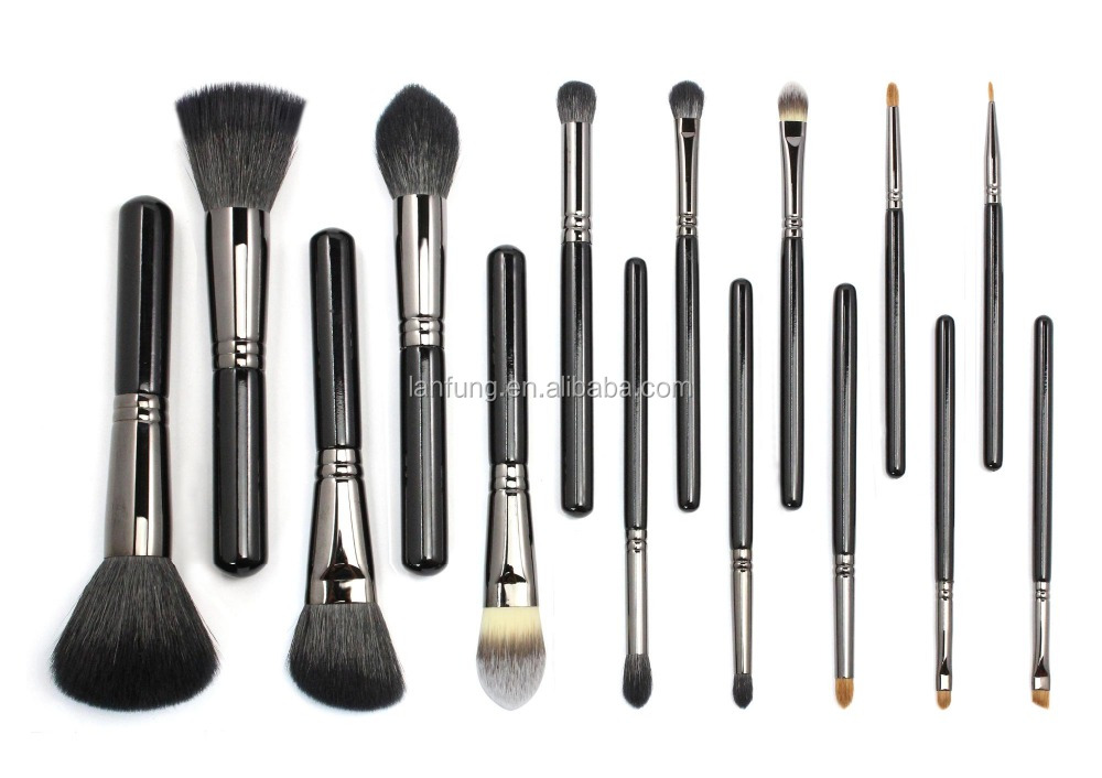 15pcs new cosmetic brush set, professional makeup brush, makeup brush set, professional cosmetic brush