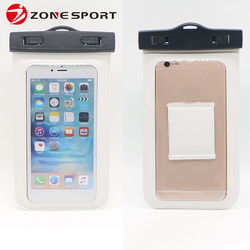 China manufacturers wholesale PVC waterproof mobile phone cases cover