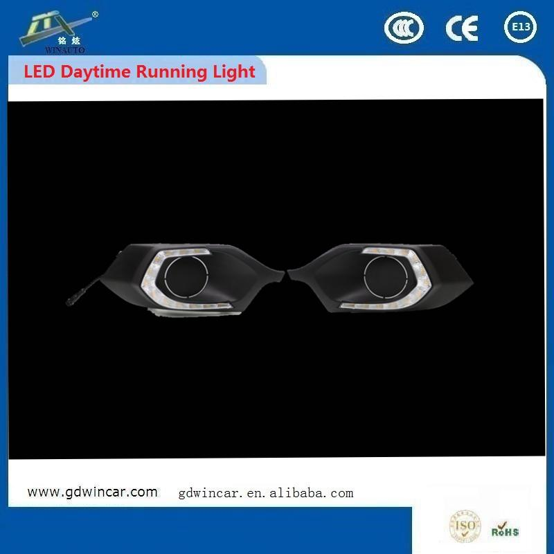 Auto Lighting System Led Daytime Running Light Bar Part Lights For Driving For New <strong>Mitsubishi</strong> Pajero Sport