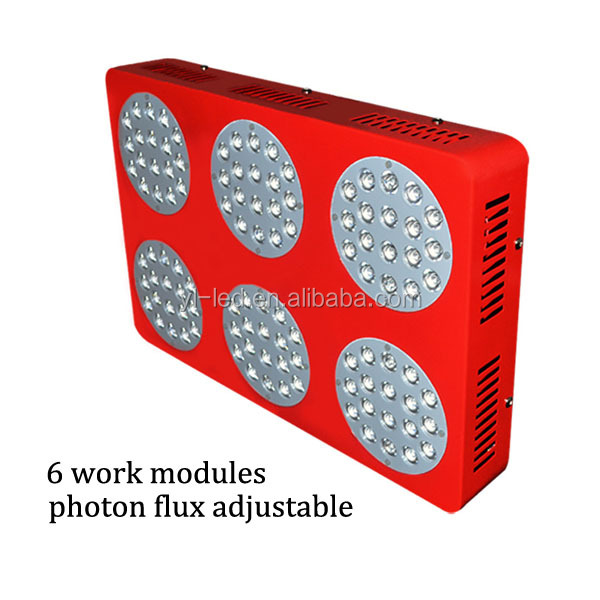 Apollo 6 324W LED Indoor Plants Grow Light Great Use For Hydroponic System