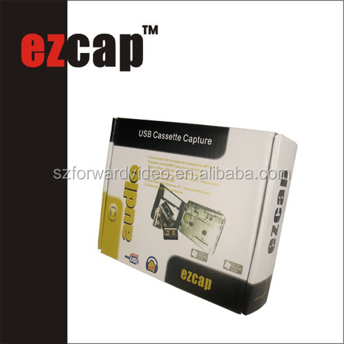Mini walkman player cassette tape to cd MP3 USB casstte converter ezcap218-2