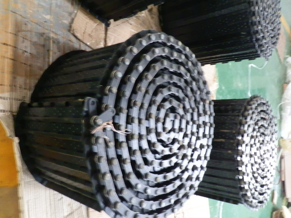 hinged belt chip conveyor chain ,width 600mm, pitch 31.75