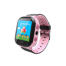 2016 Kids Smart Watch with Flash Light GSM SOS Wrist Watch Phone