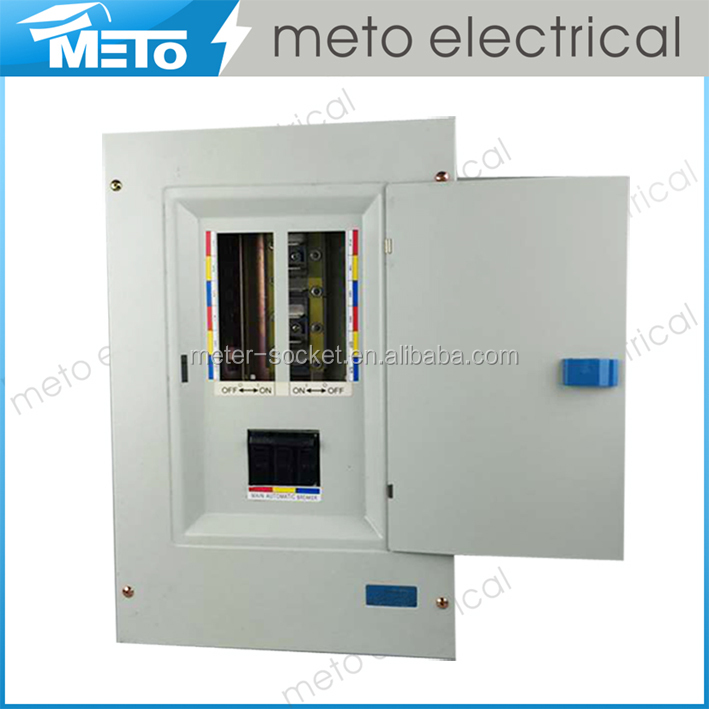 METO new product MTD4 series distribution board/electrical power plug-in load center/panel board