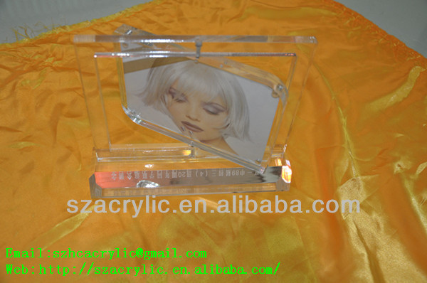 acrylic rotated shadow box frames wholesale