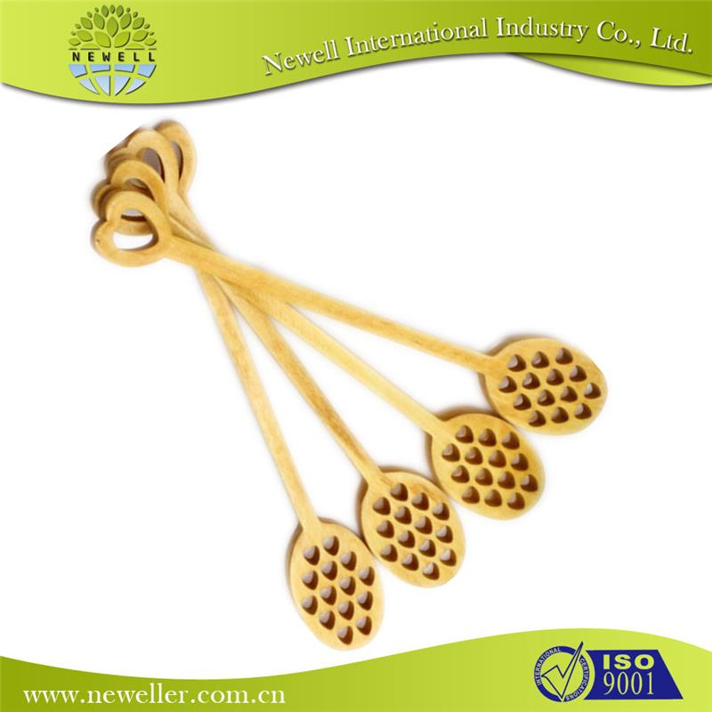 healthy customized wooden honey stirrer for fruit
