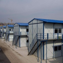 High qulity factory wholesale light steel structure prefab house K style prefabricated house