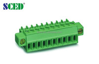 Pluggable Terminal Block 3.5mm with flange Phoenix Contact Type